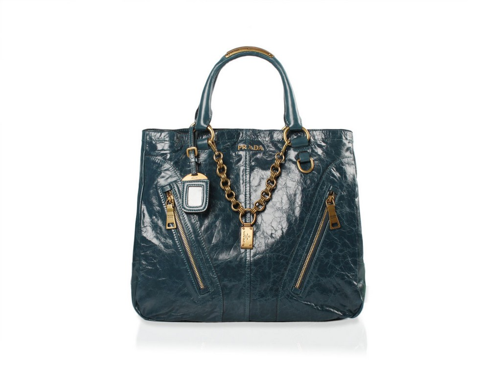 Milly Leather Large Grab Bag