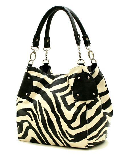 zebra purse man purse wristlet purse stone mountain purse